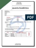 Propuesta Academica