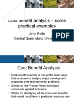 Cost Benefit Analysis Rolfe 2007