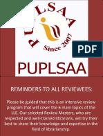 Puplsaa Review 2018