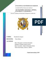 Informe Identificacion de Peligros y Riesgos cerro san cristobal