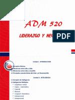 Laminas Adm520-Parte II liderazgo