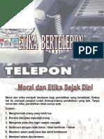 Pertemuan Ke-9_Etika Bertelepon