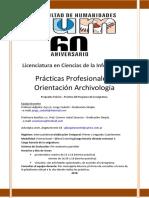 Practicas Profesionales I- Archivología Codutti