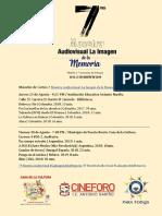 Maratón de Cortos 7 Muestra Audiovisual La Imagen de La Memoria