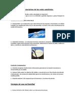 investigación de las redes satelitales