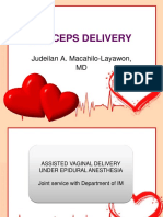 forceps delivery for gravidocardiac patients