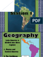 Physical Features of Latin America Ppt