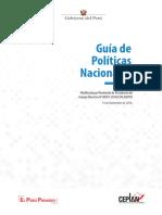 GUIA DE POLITICAS NACIONALES