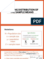 4Q Sampling Distribution of the sample means.pptx