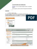 Manual Gestion de Ambientes-EJECUCION
