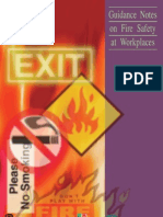Guidance Notes on Fire Safety at Workplaces