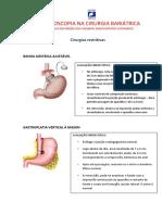 Endoscopia na cirurgia bariátrica