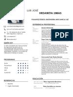 CV Luis Urdaneta
