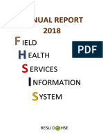 FHSIS XII Annual Report CY 2018