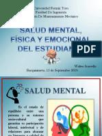 Salud Mental, Fisica y Emocional