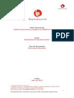 Resumen - Calidad - Procesos