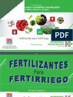 04-Fertilizantes Para Fertirriego - Ricardo Melgar