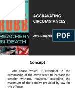 Aggravating Circumstances