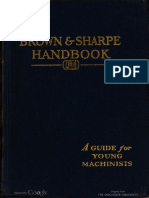 Brown and Sharpe Handbook Young Machinists