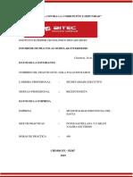 Prácticas  nivel intermedio de la Municipalidad Provincial Del Santa