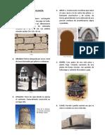 Glosario de Terminología Arquitectonica