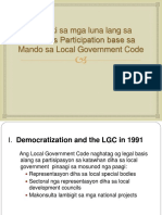 3 Codal Avenues for Citizen's Participation