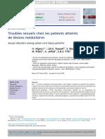 Deficiencias sexuales en pacientes con lesiones medulares