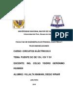 Fuente Dc de 15v -15v