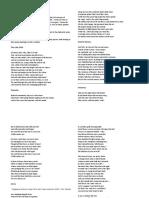 swinburne poetry selection