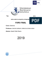 Foro Final