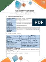 Guia de Actividades y Rubrica de Evaluacion. Paso 1. Reconocimiento Unidad 1y2