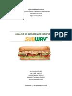 Caso Subway