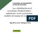 Diagrama y Distribución de Ecosistema 2018