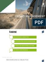 Crowd Management Ericsson