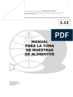 ManualparalaTomadeMuestrasdeAlimentos