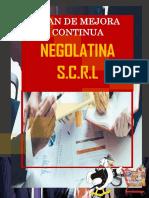 Plan de Mejora Continua Negolatina s.c.r.l.