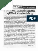 Abante Tonite, Sept. 16, 2019, 2 panukala na patataasin ang antas ng PH basic education inilatag.pdf