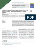 Evaluacion Del Proceso de Filtracion