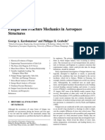 Fatigue and Fracture Mechanics in Aerospace
