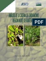 Análisis de La Cadena de Cardamomo Región Norte de Guatemala