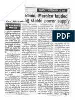 Peoples Tonight, Sept. 16, 2019, Duterte admin, Meralco lauded for ensuring stable power supply.pdf