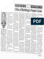 Peoples Tonight, Sept. 16, 2019, The Untold Story og Muntinlupa's Peoples Center.pdf