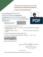 Elegibility Certificate Format