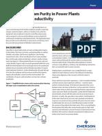 Steam Purity in Power Plants Part 1 Rosemount