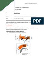 Informe - Comparativo de Camion Minero