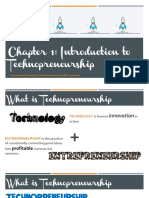 Chapter 1 Introduction to Technopreneurship