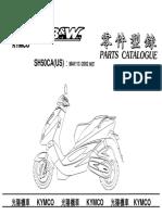 kymco b&w 250 parts manual