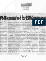 Philippine Daily Inquirer, Sept. 16, 2019, P63B earmarked for ROW payments.pdf