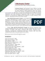 Company Profile-Cebu Am Fm Electronics 7-19