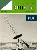 Bulletin 13-3 En World Meteorological Association July 1964